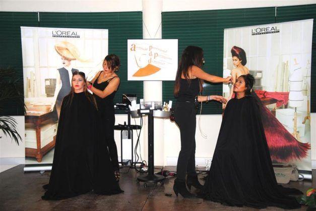 Demostración de atrevidos cortes de pelo.