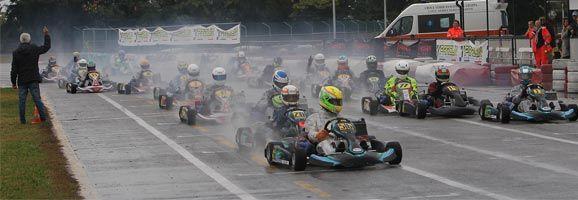 Séptima plaza en el Champion Kart Parolin
