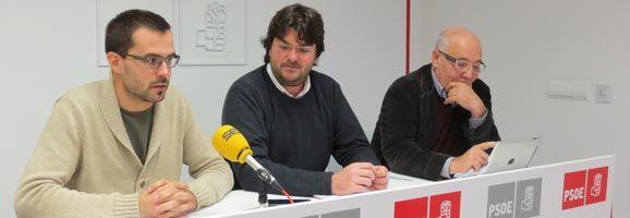 Héctor Pons, Guillem García i Vicenç Tur.