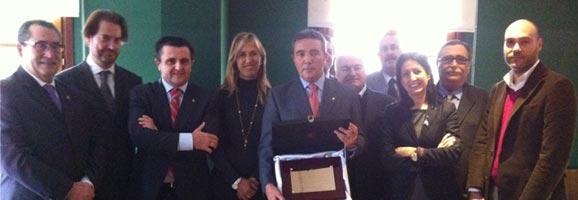 Homenaje al Coronel de La Guardia Civil, Basilio Sánchez Rufo.