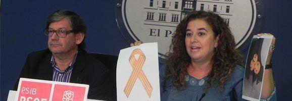El PSIB-PSOE defensarà l'esmena a la totalitat de la Llei de Símbols, que és un atemptat contra la llibertat d'expressió, la llibertat de càtedra i la llibertat sindical.