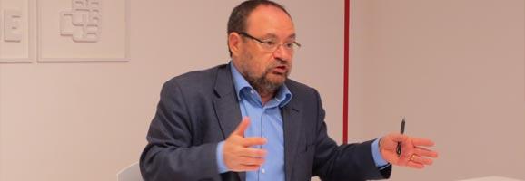 El diputat del PSOE Damià Borràs.