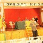 Els Glosadors de Menorca actuant al centre Cultural des Castell.