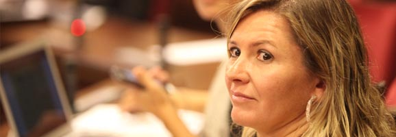 Margalida Serra ha destacado la Ley de Emprendedores, la creación de 557 puestos de trabajo y la creación de 100 nuevas empresas a través de ISBA.