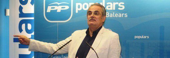 El portavoz del Partido Popular de las Illes Balears y diputado nacional, Miquel Ramis.