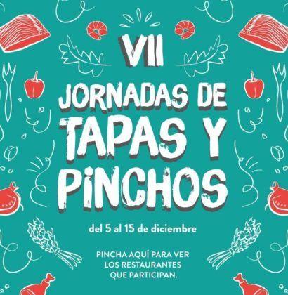 Cartel de las VII Jornadas de Tapas y Pinchos.