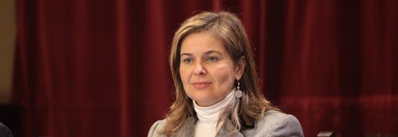 La diputada del Grupo Parlamentario Popular, Catalina Palau.