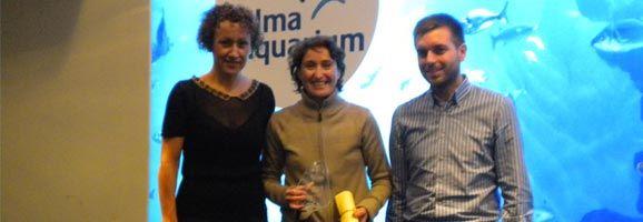 Entrega de premio al COLEF Illes Balears por parte de AGEPI.