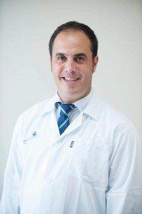 El Dr. Gil Iriondo, de la Policlínica Virgen de Gracia de Menorca.