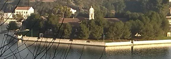 Isla Pinto de la Base Naval de Mahón.