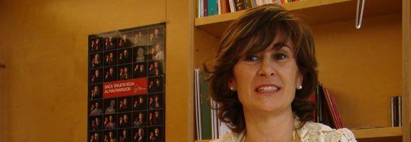 Aurora Herráiz, consellera de Benestar Social i Joventut.