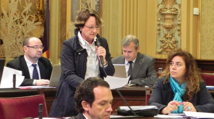Cristina Rita, diputada socialista de Balears.
