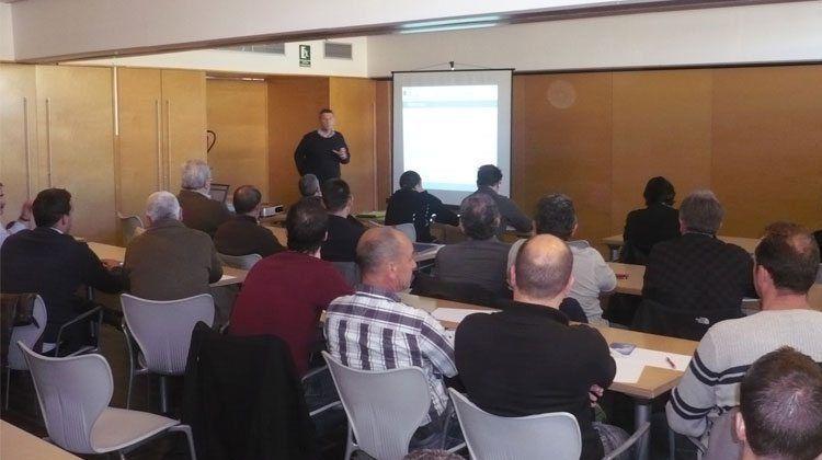 Fotografia de l'inici del Curs d'Energies Renovables des Consell Insular de Menorca