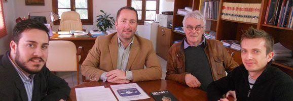 Reunió del FCIB amb José Maria de Sintas Zaforteza, batle de Ciutadella.