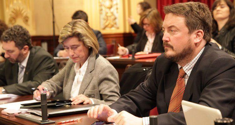 El diputado y portavoz de la Comisión de Hacienda y Presupuestos, Antoni Camps.