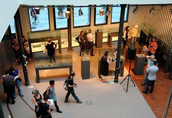 Exposició Menorca Contemporània, exposada a València.