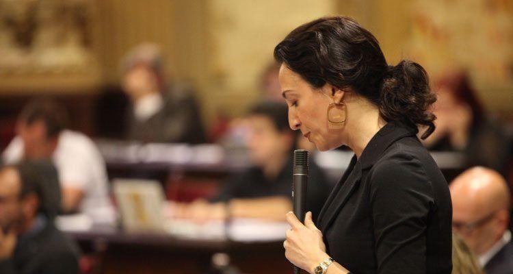 La diputada popular y portavoz de Turismo del GPP, Lourdes Bosch.