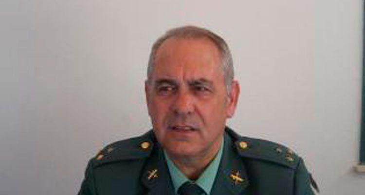 El capitán de la Guardia Civil y escritor Luis Sanz Álvarez.