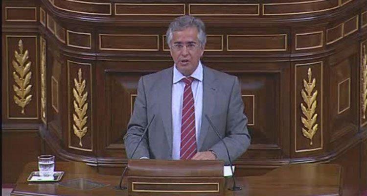 El diputado del Grupo Popular por Baleares, Rogelio Araujo.
