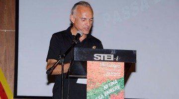 Sebastià Serra Joan, máximo responsable de la sección sindical de Sanidad del STEI.