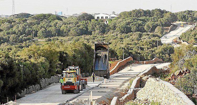 Camí de Torralba en obres