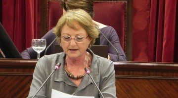 Cristina Rita. Diputada del Grup Parlamentari Socialista per Menorca.