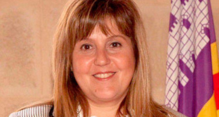 Joana Maria Camps Bosch, consellera d'Educació, Cultura i Universitats del Govern de les Illes Balears des del 2 de maig de 2013.