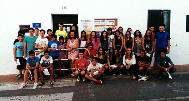 Joves participants al programa Compta amb Jo!
