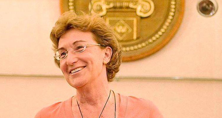 Margarita Orfila, presidenta de l'Ateneu de Maó i catedràtica d'arqueologia de la Universitat de Granada.