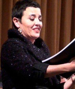 Maria Camps. Cantant menorquina d'òpera.