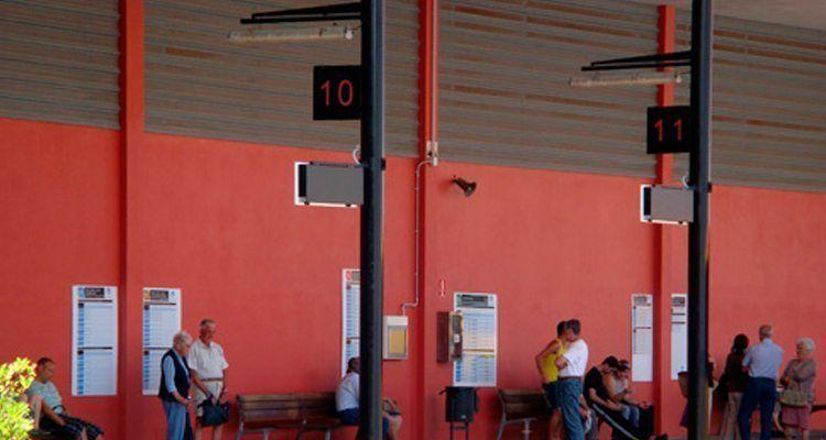 Parada de la Estación de Autobuses de Mahón