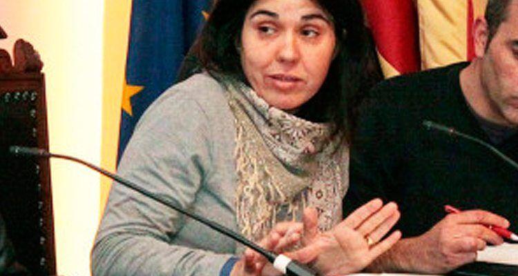 La portavoz del Grupo Socialista, Prado Urbina.