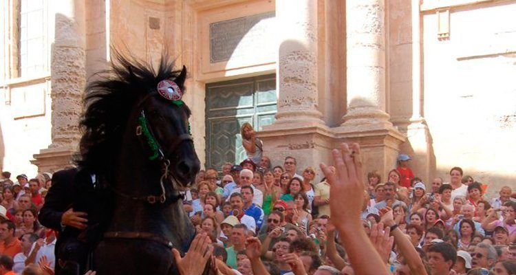 Fiestas de San Juan en Ciutadella de Menorca.
