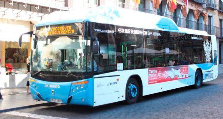 Autobús del Transporte Público toledano.