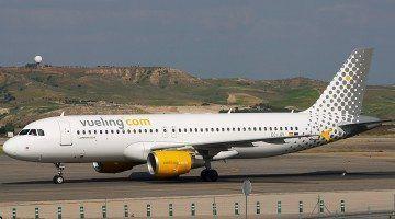 Avión de la compañía Vueling.