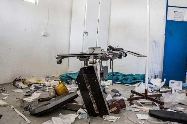 Quirofano Destrozado Sudan del Sud