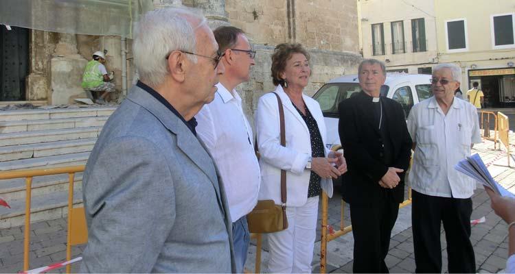 rehabilitació de la façana de l'església del Carme de Maó
