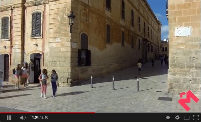 """Vídeo del """"Comerç de Menorca – Comercio de Menorca"""""""