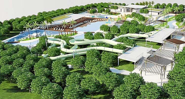 El parque acu tico de biniancolla funcionar con agua del - Parque acuatico menorca ...