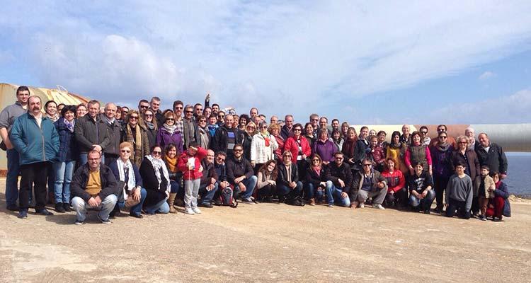 85 personas visitan el patrimonio histórico-militar del puerto de Maó