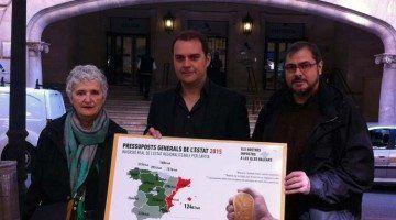 """Lladó: """"La responsabilitat real de l'endeutament no és per qui governa a Madrid, sinó que governi Madrid"""""""