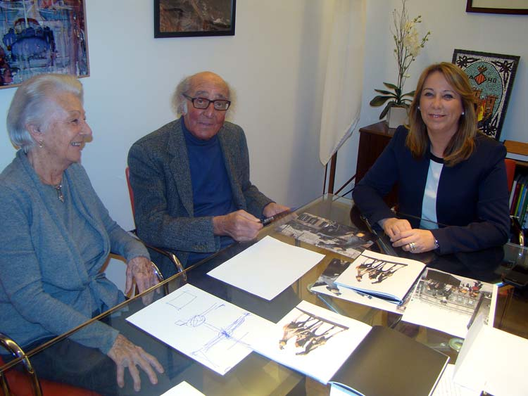 Nag Arnoldi y Agueda Reynes
