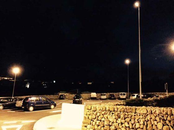 Alumbrado parking calle Ciutadella - Alaior