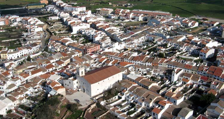 Vista Aerea de Es Mercadal Menorca