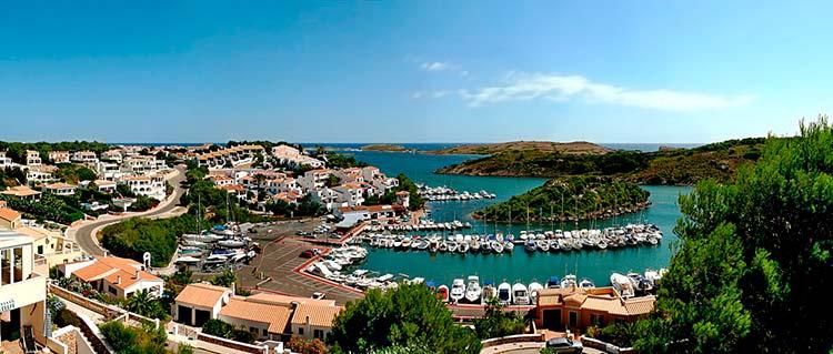 Puerto de Addaia Menorca