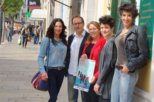Vanesa Contreras, Tato, Águeda Reynés, Pilar Garró i Patricia Redondo