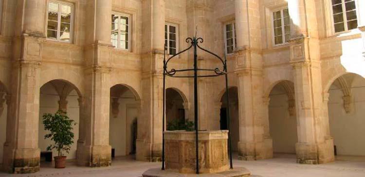 Patio Central del Museo de Menorca