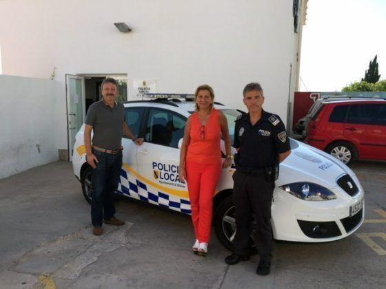 Imagen segundo vehículo nuevo Policía Local Alaior