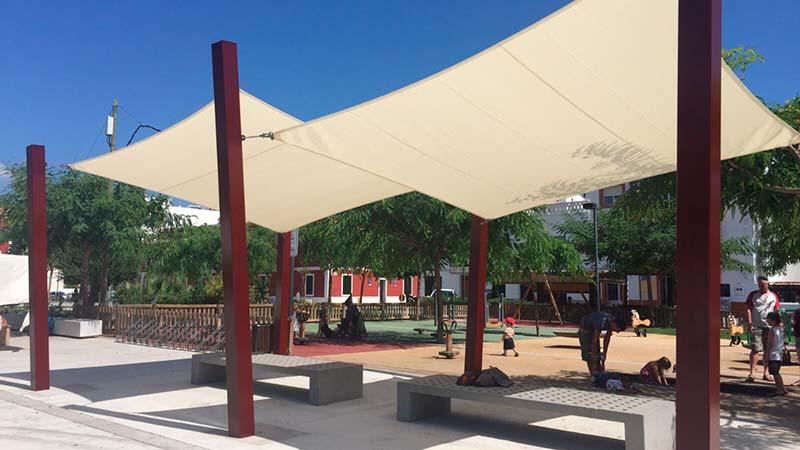 Mobiliario Plaça Esplanada Es Castell