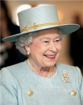 Reina Isabel II Inglaterra